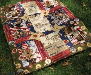 Kaufman Free Quilt Pattern - Scouting Is... Pattern