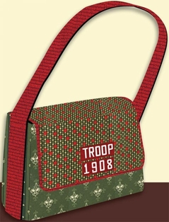 Kaufman Free Sewing Pattern - On The Go Messenger Bag Pattern