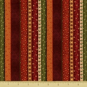 Kimono Cotton Fabric - Stripe - Multi