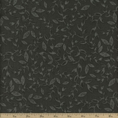 Kingston Urban Vine Cotton Fabric - Grey - CLEARANCE