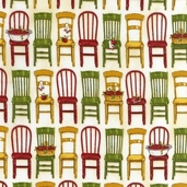 Kiss the Cook Cotton Fabric Collections - Vintage