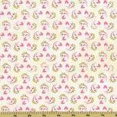 Kissing Booth Mousse Cotton Fabric - Natural 30313-11