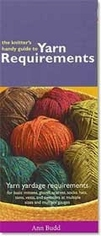 Knitter's Handy Guide to Yarn Requirements by Ann Budd