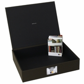 Kolo- Havana Photo Boxes Chocolate Cloth (12.5 x 10)