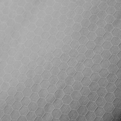 Kona Dimensions Honeycomb Jacquard Cotton Fabric - Grey
