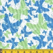 Krakow Fabric - Blue - CLEARANCE