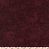 Krystal Blender Cotton Fabric - Maroon