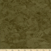 Krystal Blender Cotton Fabric - Olive