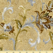 La Scala 4 Cotton Fabric - Antique EKJM-12786-199  - Clearance