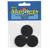 Large Round Magnets - 1.25in. - Package of 6