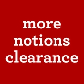 Notions Clearance