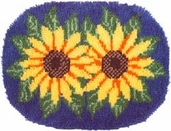 Latch Hook Kit: Sunflowers