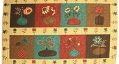 Late Bloomers Cotton Fabric - Panel