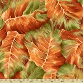 Leaf Candy Cotton Fabric - Autumn