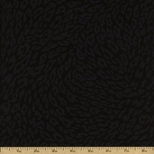 Leopards Leopard Print Cotton Fabric - Black 3700-8593-8