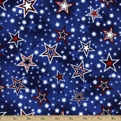 Liberty Lane Cotton Fabric - Blue K5009-7