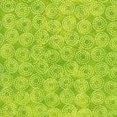 Lift Your Spirits Cotton Fabric - Lime