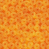 Lift Your Spirits Cotton Fabric - Orange
