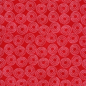 Lift Your Spirits Cotton Fabric - Red