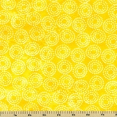 Lift Your Spirits Cotton Fabric - Yellow