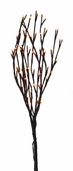 Lighted Autumn Willow Branches - 19 inch - Brown