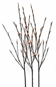 Lighted Willow Branches - 39 inch - Brown