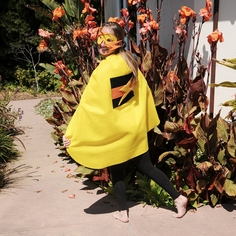 Lightning Super Hero Cape with Mask