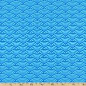 Lili-fied Arches Cotton Fabric - Turquoise 05966-84