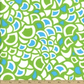 Lili-fied Cotton Fabric - Green 05968-44