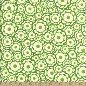 Lili-fied Cotton Fabric - Green 05972-44