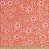 Lili-fied Cotton Fabric - Orange 05972-30