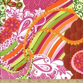 Lili-fied Cotton Fabric - Pink 05965-22