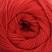 Lion Cotton Yarn - Poppy Red