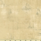 Little Black Dress Grunge Cotton Fabric - Tan