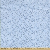Little Darlings Cotton Fabric - Abstract - Blue - CLEARANCE