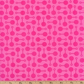 Little One Organic Cotton Fabric - Pink AKE-11483-10 PINK