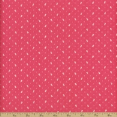 Little Sweethearts Calico Cotton Fabric - Pink