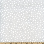 Lots-a-Dots Cotton Fabric - White DOTS-29078-12 - Clearance