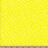 Lots-A-Dots Cotton Fabric - Yellow 29078-09 - Clearance