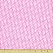 Love and Hope Pink Ribbon Cotton Fabric - Pink 22211-P