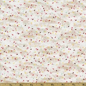 Love at First Bite Sprinkles Cotton Fabric - Natural 35523-1