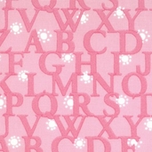 Love U by Deb Strain Letters - Pretty Pink