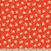 Lovely Cotton Fabric - Red 17578-22