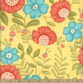 Lovely Cotton Fabric - Yellow 17571-14