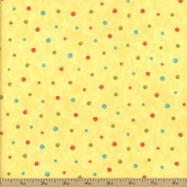 Lovely Cotton Fabric - Yellow 17577-14 - CLEARANCE