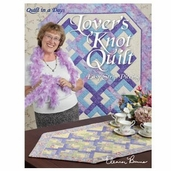 Lover's Knot Quilt Easy Strip Piecing by Eleanor Burns
