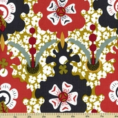 Lucky Penny Cotton Fabric - Floral - Multi Color 5895-BY