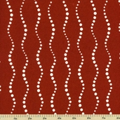 Lucky Penny Cotton Fabric - Wavy Dot - Orange 5900-CR
