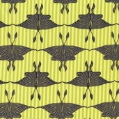 Luna Moth from Michael Miller Fabrics - lime