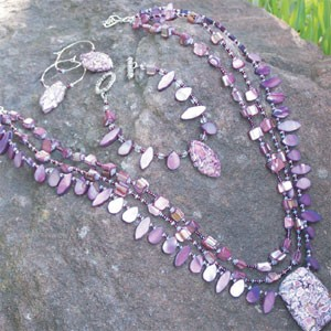 Luscious Lavender Jewelry Set